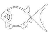 aboriginal art fish coloring pages