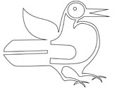 aboriginal art bird coloring pages