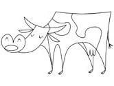 Bull Coloring Page Cow