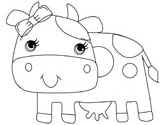 Cow Coloring Pages