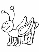 grasshoppers coloring pages coloring ws