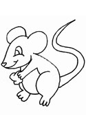mouse coloring page - Mouse Pictures To Color