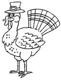 turkey coloring book pages