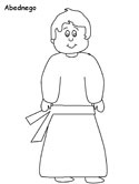 Fiery Furnace Coloring Pages