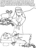 Abraham's Promise Coloring Page | Bible coloring, Free bible ... | 166x125
