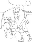 esaus birthright coloring pages - photo#6
