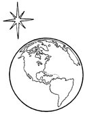 nativity coloring page