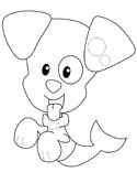 bubble puppy coloring pages