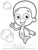 goby coloring pages