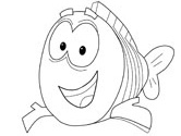 mr grouper coloring pages