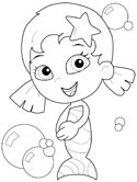 Oona coloring page