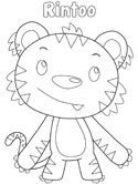 Ni Hao Kai-Lan coloring pages on Coloring-Book.info | 166x125
