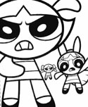 Powerpuff Girls coloring page