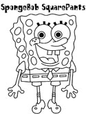 Spongebob Squarepants Coloring Page