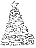 Christmas Trees Coloring Pages