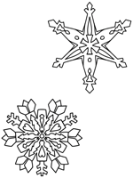 The Snow Queen coloring page
