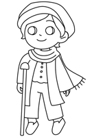 A Christmas Carol Coloring Pages
