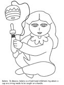 Mexico coloring page
