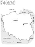 Poland coloring pages