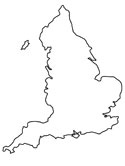 Map Of England To Colour.England Coloring Pages