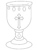 Holy Grail coloring page