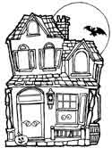 Houses and Homes Coloring Pages