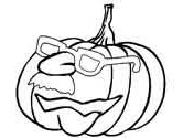 Halloween Jack-o'-Lantern coloring pages