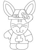 st patricks day coloring page