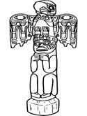 Native American coloring pages