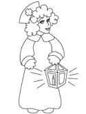 nurse colouring pages