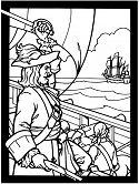 pirate coloring page - Coloring Ws Coloring Pages