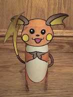 Raichu pokemon craft