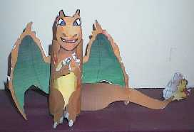Charizard Pokemon craft