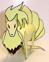 Ninetales Pokemon craft