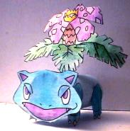 Venusaur TP Roll Craft