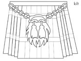 scottish kilt coloring pages