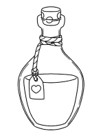 potion coloring page