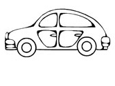 volkswagon coloring pages