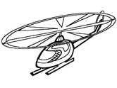 aviation colouring pages