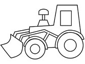 construction vehicles coloring pages - Construction Truck Coloring Pages
