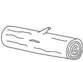 log coloring pages - photo#2