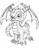 Spyro Coloring Pages
