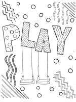 play coloring page